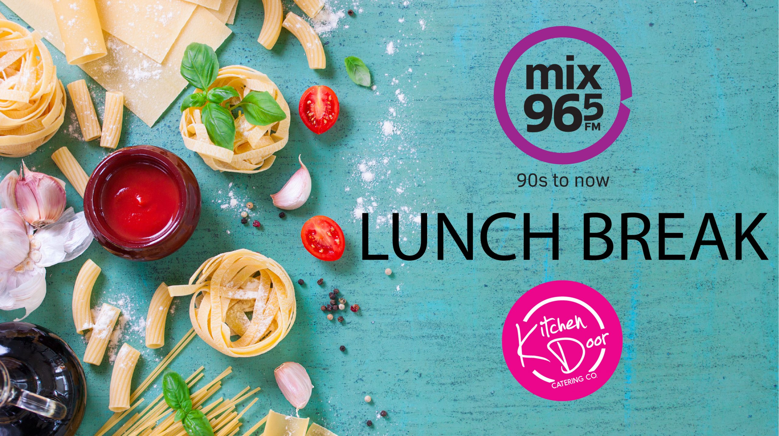 WIN! Mix 96.5 Lunch Break With Mix 96-5 Morning Show