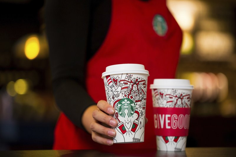 Starbucks Releases Colour-It-In-Yourself Holiday Cup