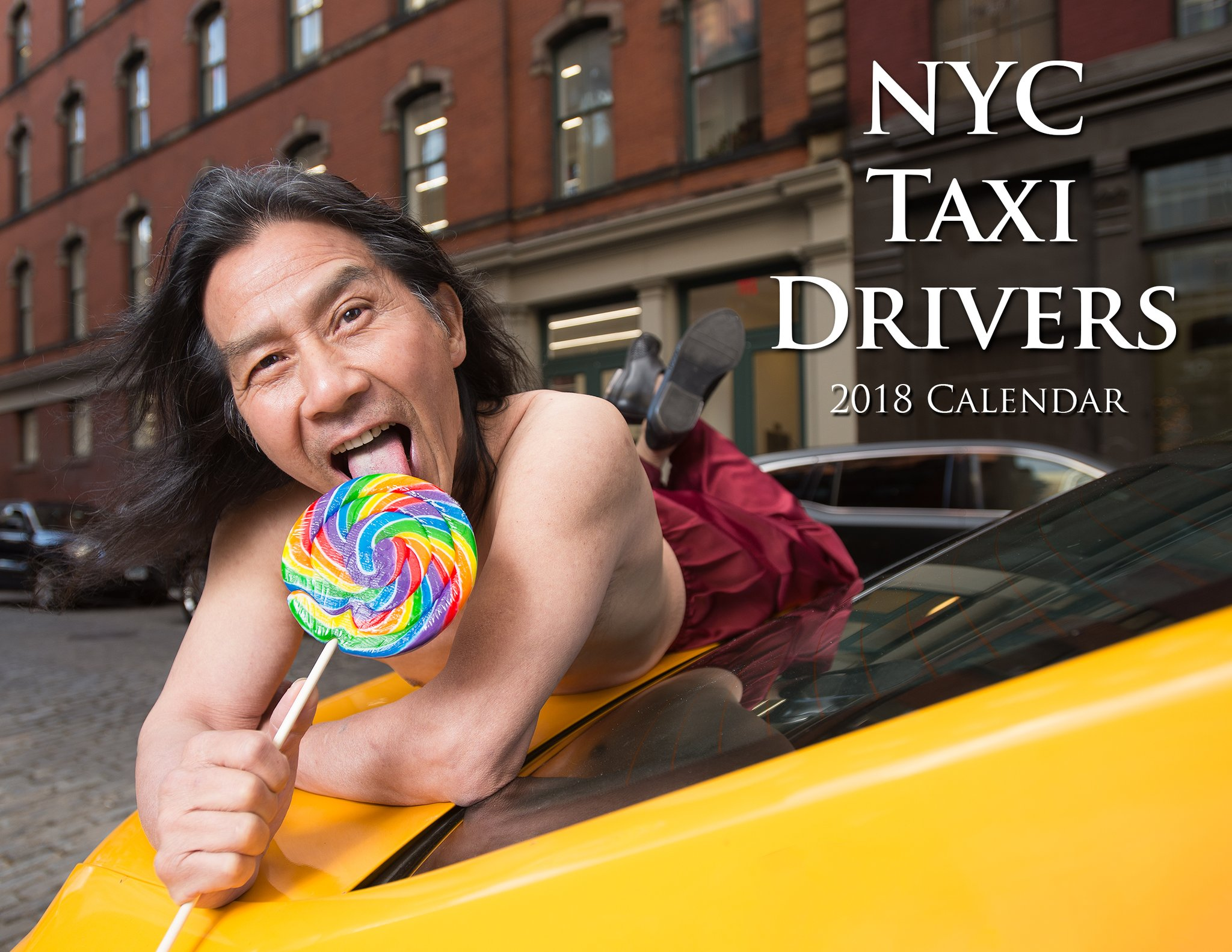 "NYC Cabbies Release ""Sexy"" Charity Calendar"