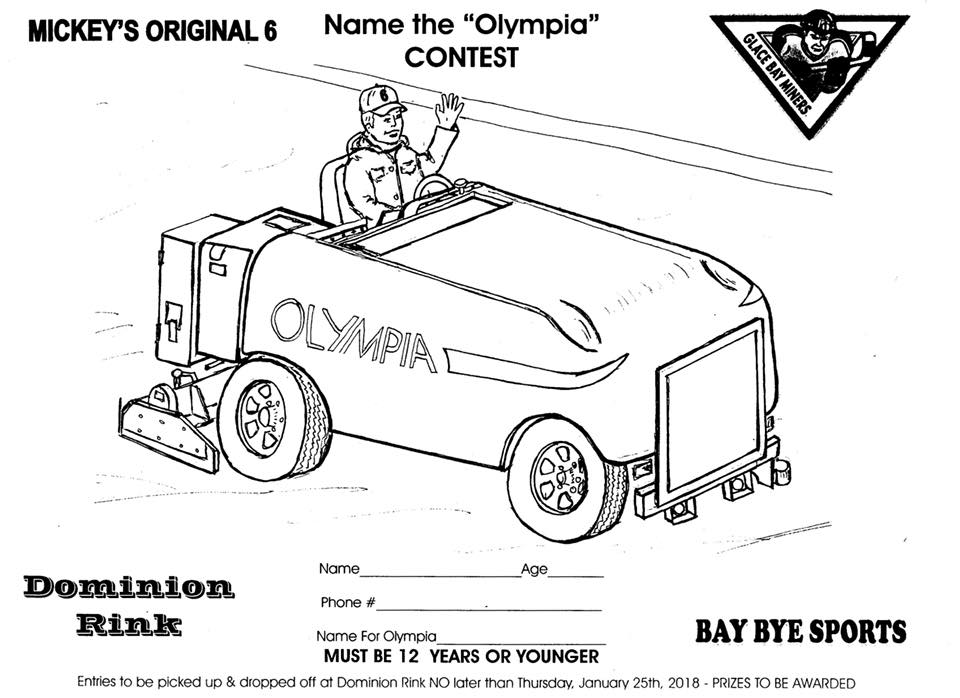 Totally Canadian Contest: Naming a New Zamboni