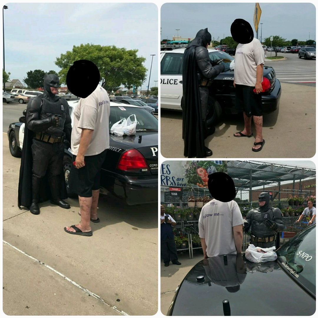 Cop Dressed as Batman Nabs Thief Trying To Steal The LEGO BATMAN Movie