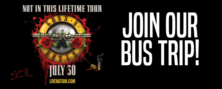 Guns & Roses at U.S. Bank Stadium Bus Trip - $179