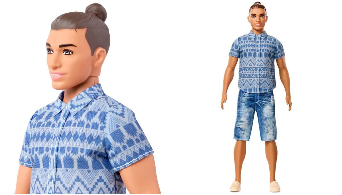 Barbie's Boyfriend Ken Will Now Come With a Man-Bun and the Internet Is Freaking out