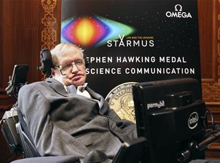 Stephen Hawking Says It's Time for Humans to Leave Earth
