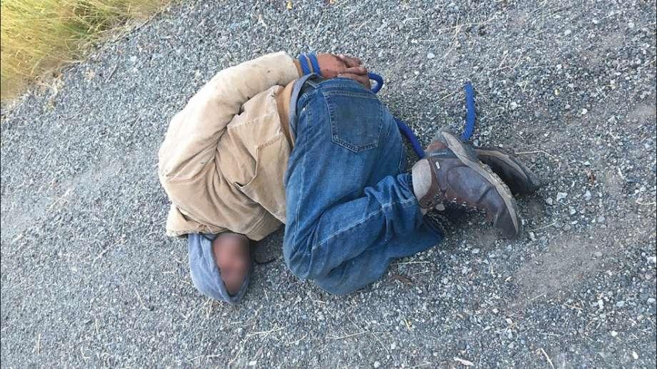 Possibly Stoned 'Cereal' Burglar Hog-Tied on Roadside After Stealing a Bowlful