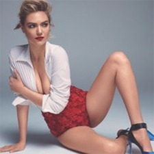 Kate Upton's Patriotic Photo Shoot WIll Make You Stand up and Salute