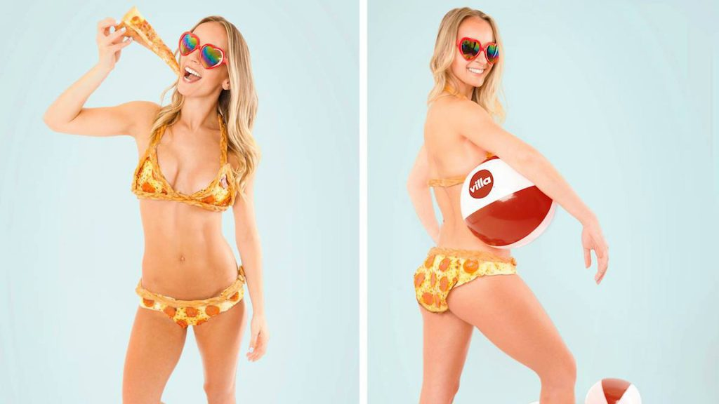 World's First Edible Bikini Made Entirely Out Of Pizza Arrives
