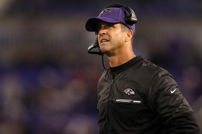 John Harbaugh Says Ravens Are Interested in Signing Colin Kaepernick