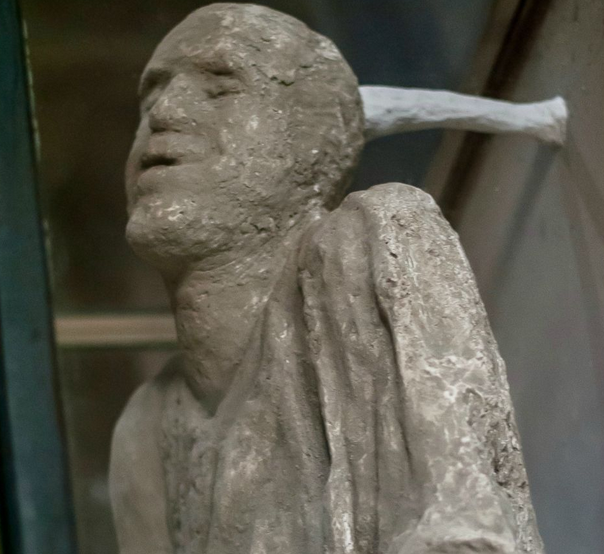 Pompeii Volcano Victim Preserved Masturbating for Almost 2000 Years Is Finally Going Viral
