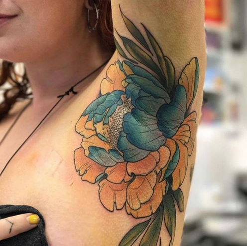 Armpit Tattoos Are the Most Surprising Trend of the Summer, But Are They Safe?