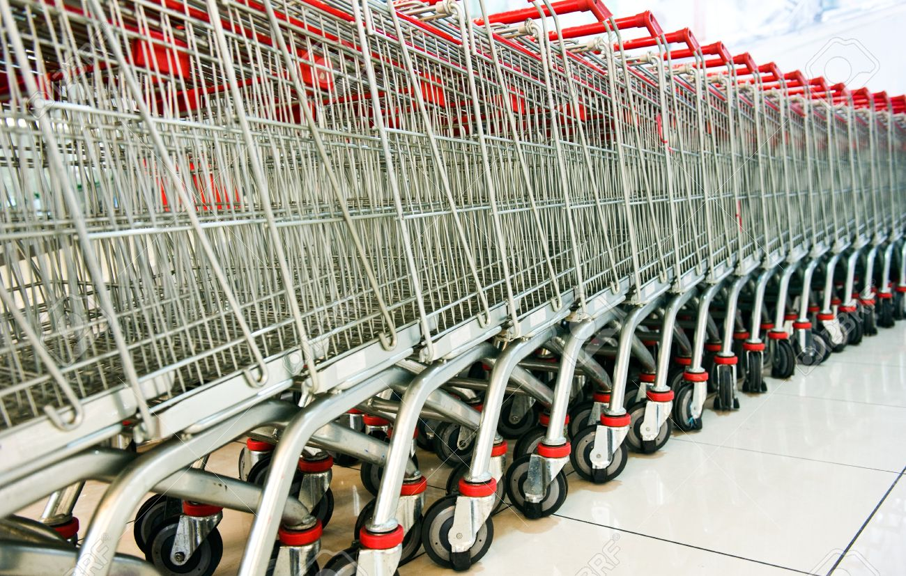 People who put away their shopping carts are more successful than those who don't