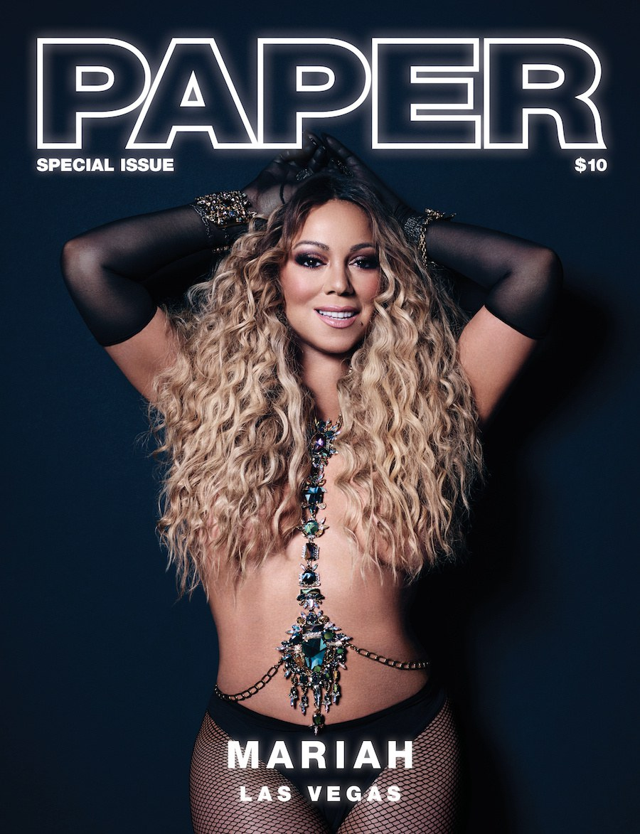 Mariah Carey Poses Topless for Paper Magazine [SFW]