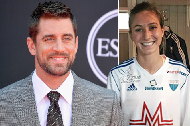 Aaron Rodgers Rebounds from Olivia Munn with Soccer Star