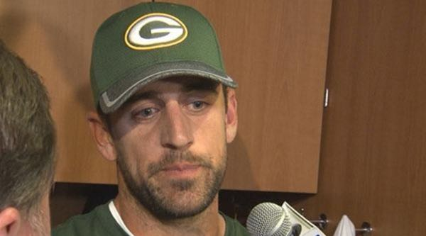 Aaron Rodgers Records His Own Interviews So His Words Can't Be Twisted
