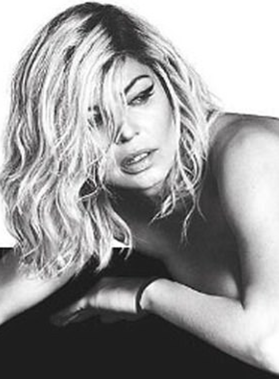 Fergie Takes it All off to Help Promote Her New Album