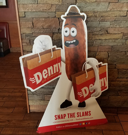Denny's CMO Clarifies That Sausage Mascot Is Not, In Fact, a Piece of Poo