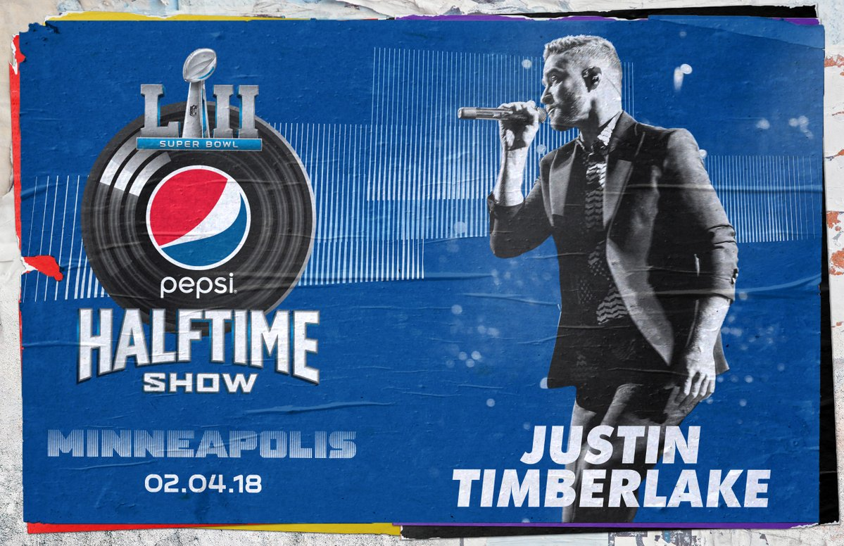 Justin Timberlake Officially Announced as Super Bowl 51 Halftime Performer