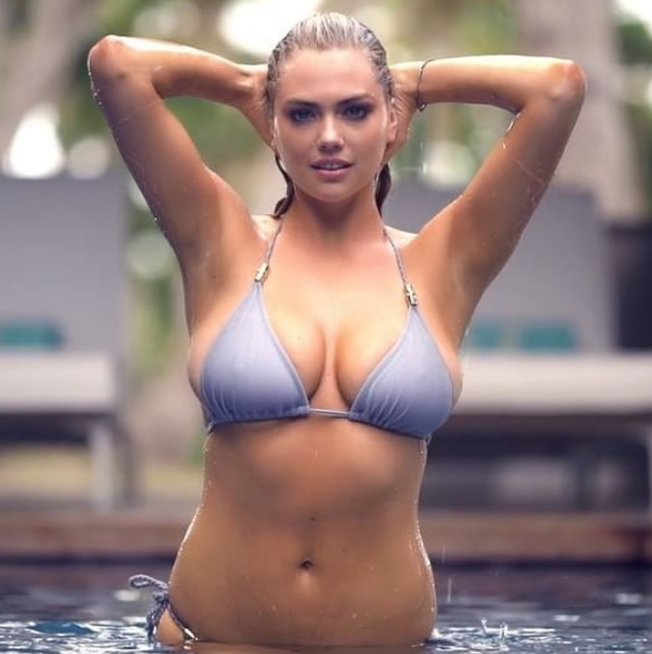 Watch Kate Upton Get Wet and Wild In Never-Before-Seen Bikini Video