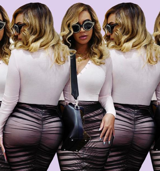 Beyonce Shows Off Her New Fantastic Curves on Instagram [SFW PICS]