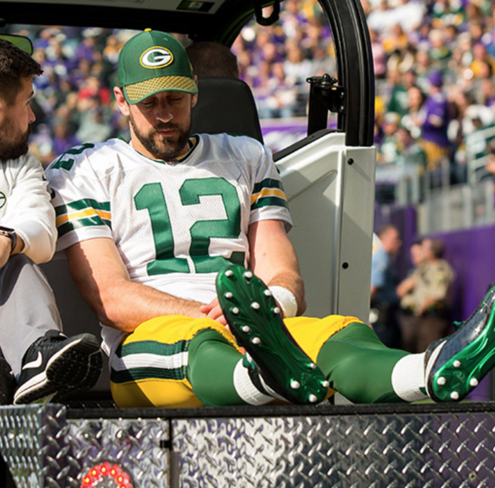 Aaron Rodgers' Injury Has Caused Packers Ticket Prices to Plummet