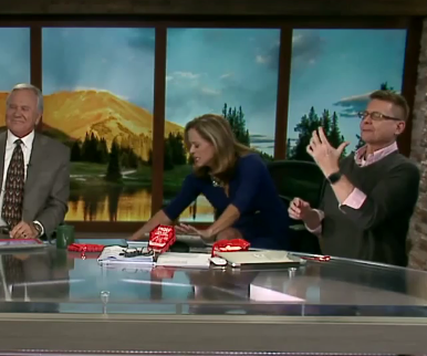 Denver News Anchor Tries 'World's Hottest Chip,' Throws Up on Air [VIDEO]