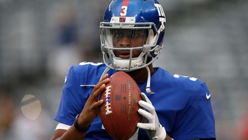 Giants Bench Eli Manning, Geno Smith to Start