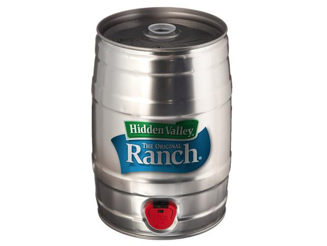Hidden Valley Ranch Keg, Ranch Fountain Now Available for the Holidays