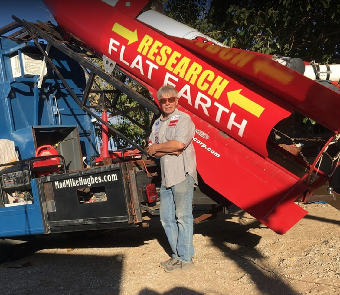 Calif. Man Plans to Launch Himself in Homemade Rocket Funded by Flat-Earthers