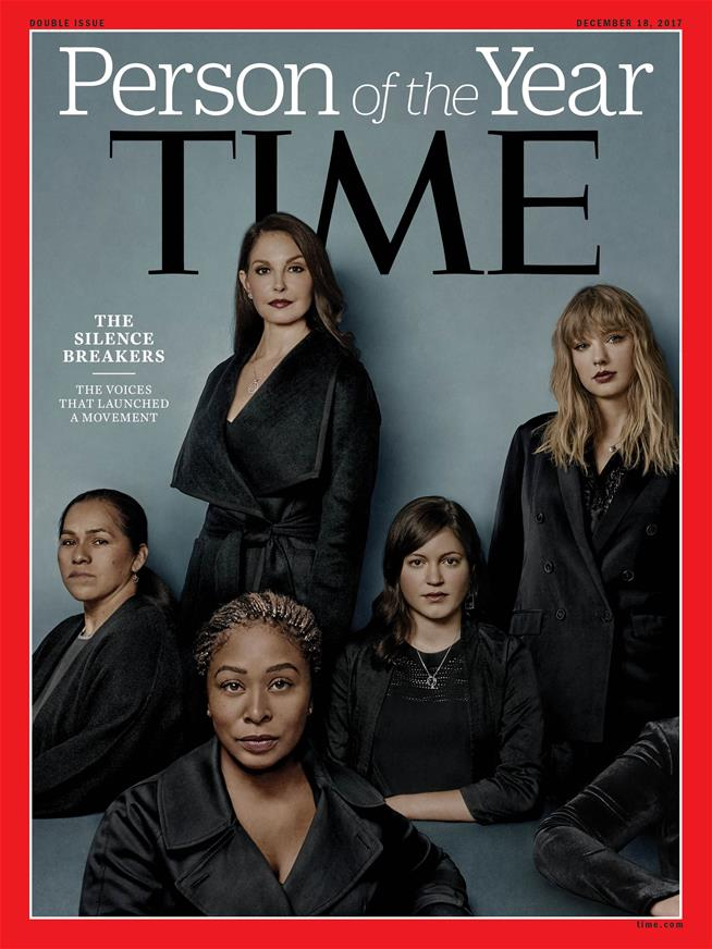 Time's Person of the Year: The 'Silence Breakers'