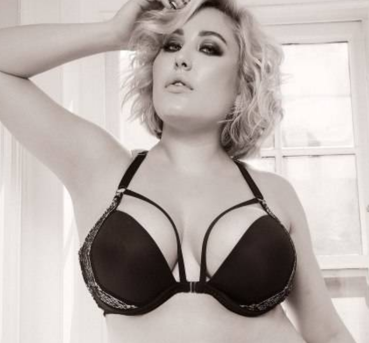 Hayley Hasselhoff Poses for Sultry Shoot in Curvy Magazine