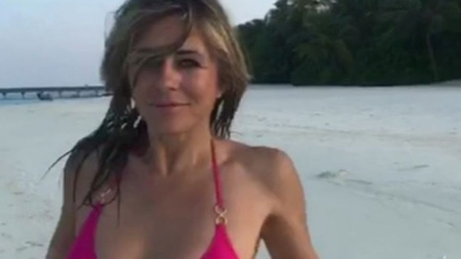 52 Year Old Elizabeth Hurley Breaks the Internet with Bikini Dance