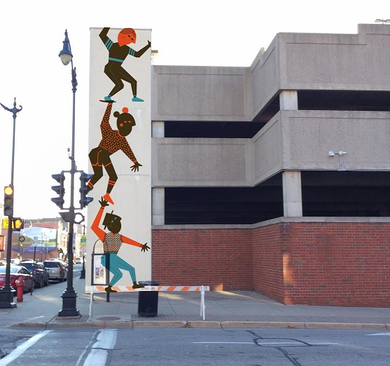 Mural Coming to Downtown Parking Ramp