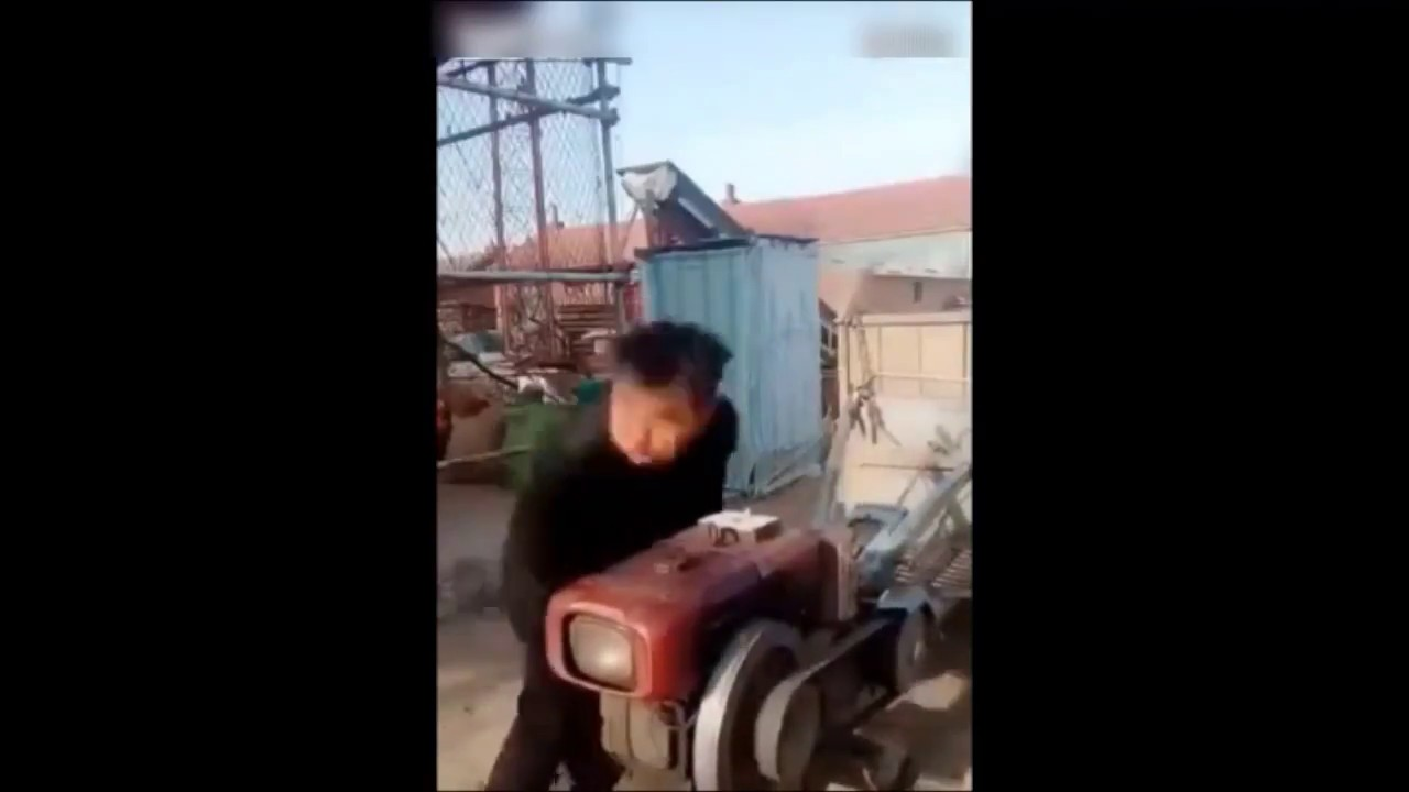 Who Doesn't Enjoy Hand-Cranking Their Tractor?