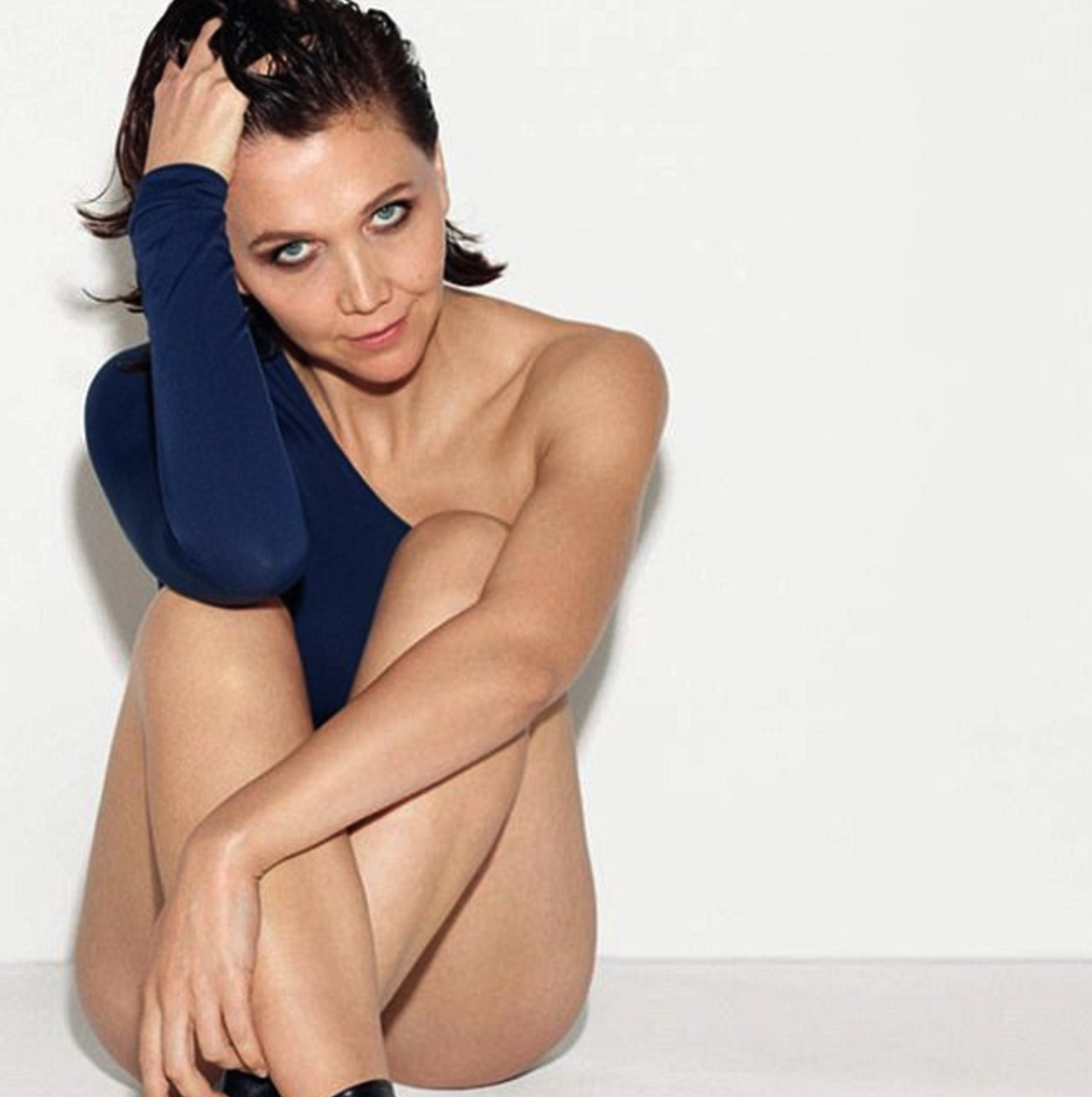 Maggie Gyllenhaal Leaves Little to the Imagination in Leggy New Ad Campaign [PICS]