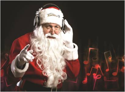 100.1 switches to an all Christmas format.  Thank God it isn't us.