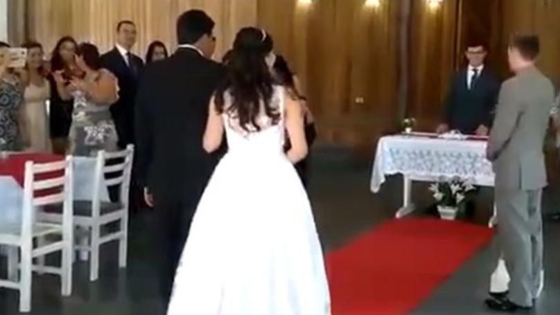 Sex Groans Over PA Put A Damper On Wedding Festivities