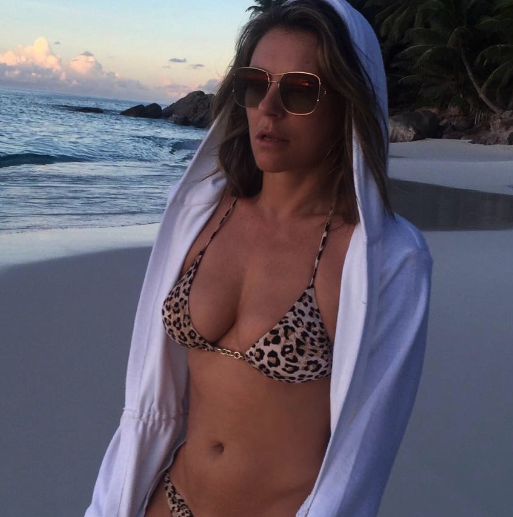 Timeless Elizabeth Hurley Unveils Another Sextastic Bikini Snap on Instagram
