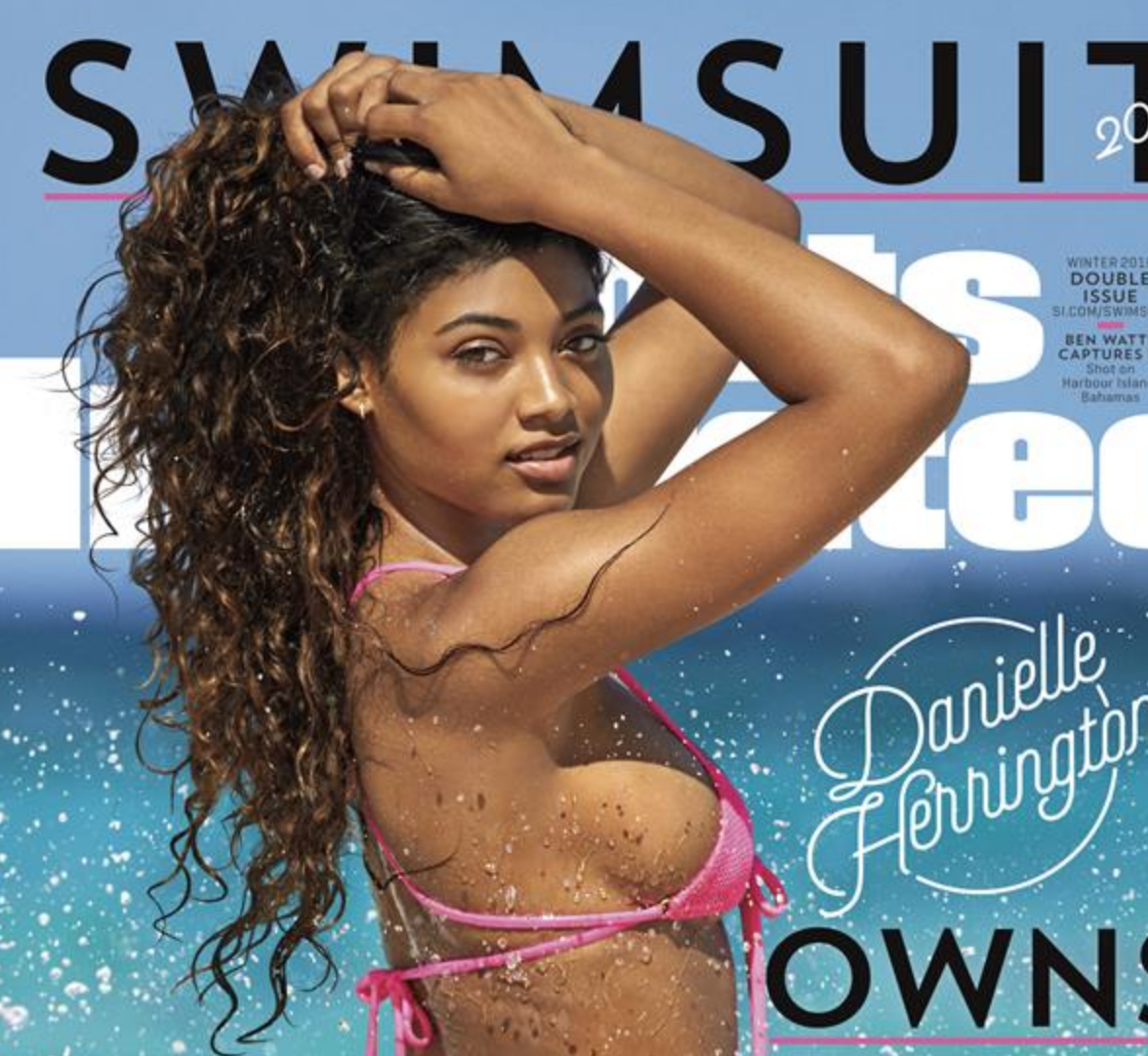 Rookie Model Danielle Harrington Nabs SI Swimsuit Issue Cover [SFW PIC]