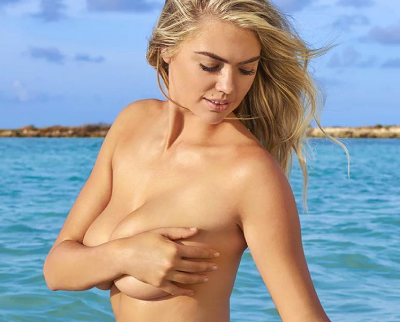 Kate Upton Suffers  Wardrobe Malfunction During SI Shoot [PICS & VIDEO]