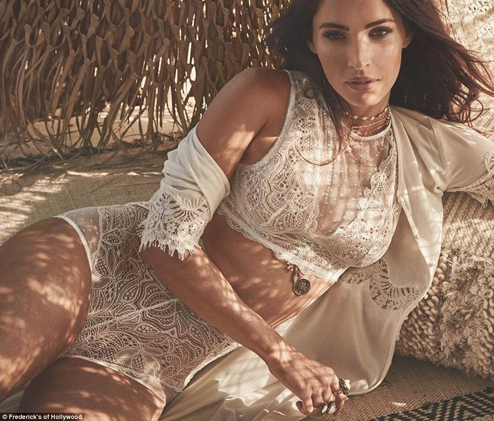Megan Fox Is White-Hot in Her New Fredricks of Hollwood Lingerie Campaign [SFW PICS]