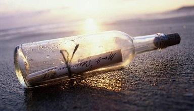 New oldest message in a bottle found! Still no Jeannie.