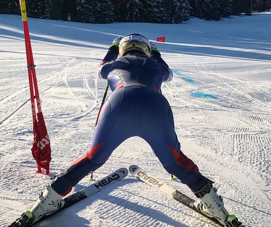 Lindsey Vonn On The Slopes in Sweden