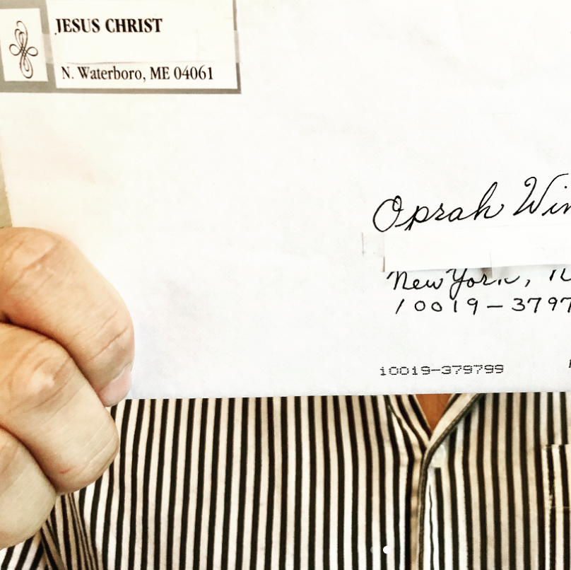 Woman Named 'Jesus Christ' Writes a Letter to Oprah Winfrey