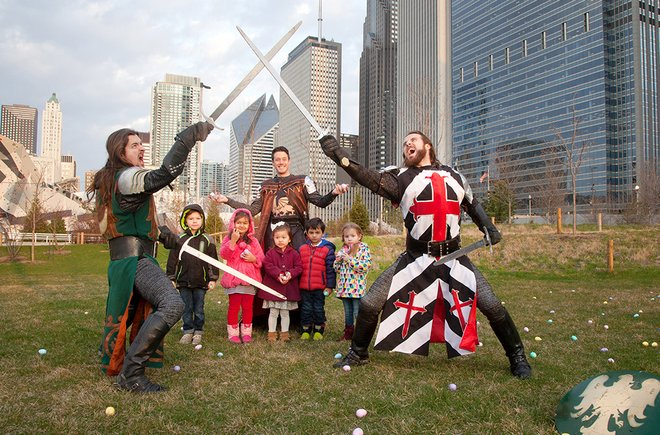 Chicago Hosting 'Medieval Times' Easter Egg Hunt with Knights Instead of Bunnies