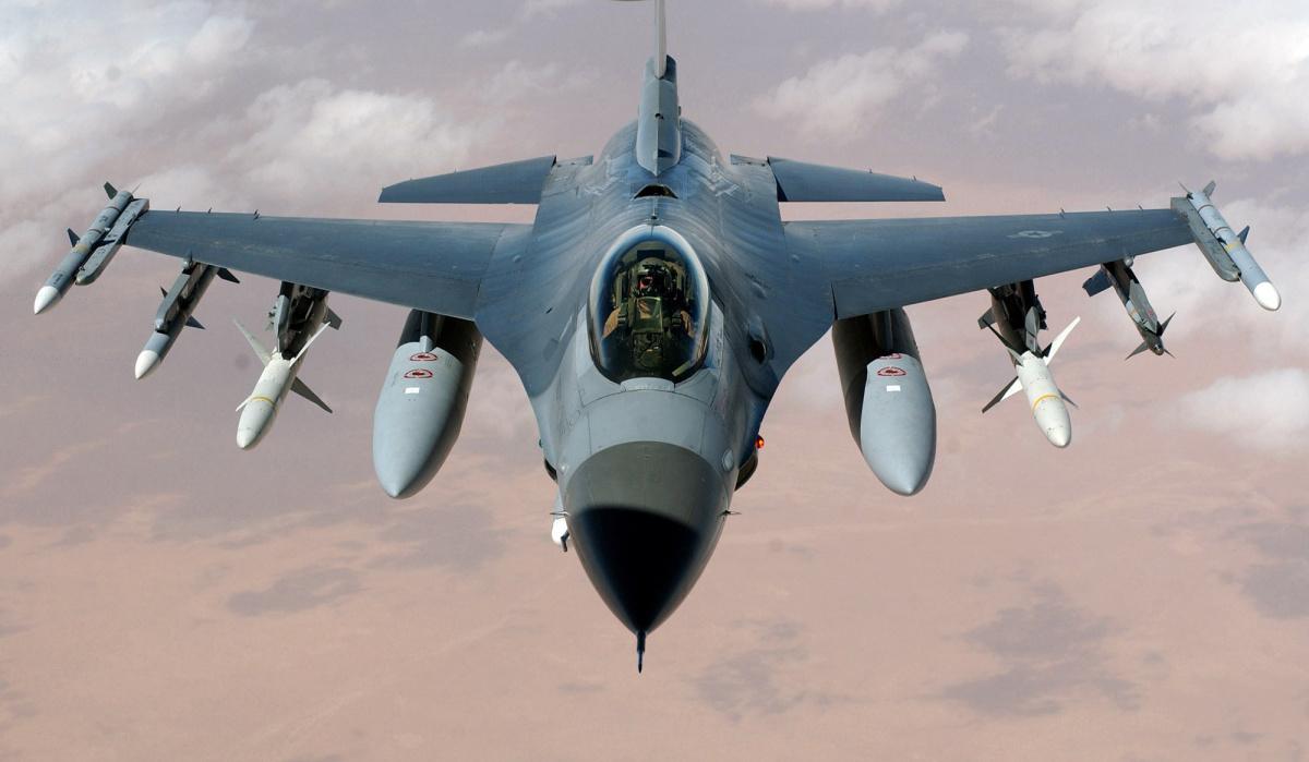 It's a Bird!  It's a Plane!  It's an F16!!!