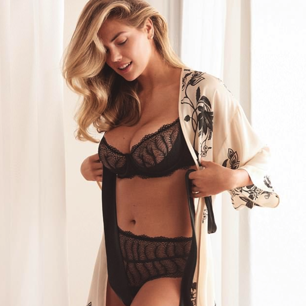 Kate Upton Displays Her Ample Assets in an Array of Lingerie