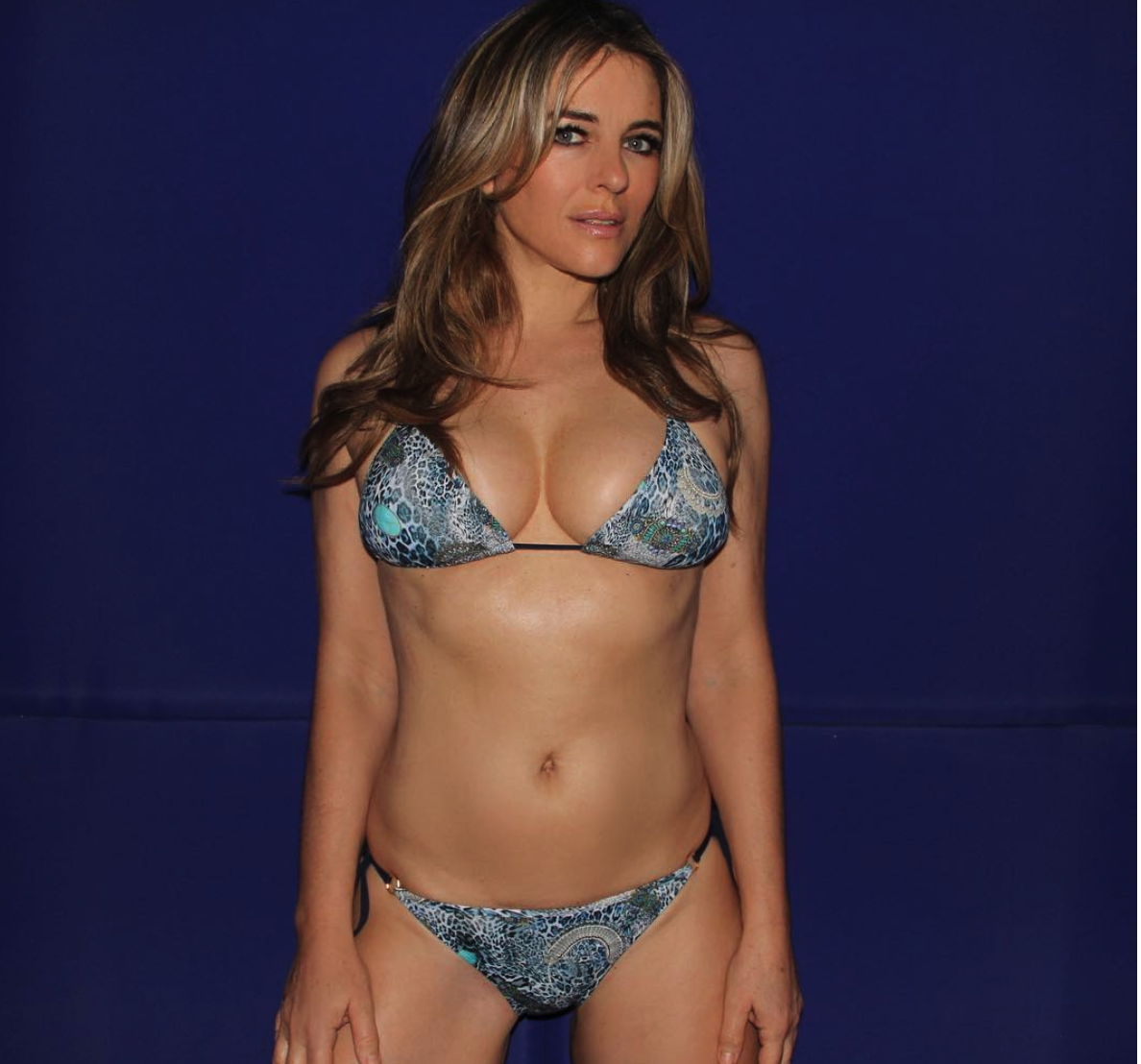 Ageless Elizabeth Hurley Flaunts Her Sextastic Bikini Body