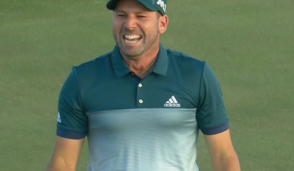 Sergio Garcia Goes TIN CUP on 15th at Augusta