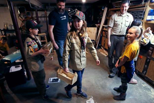 With Girls in the Mix-Boy Scouts Change Their Name