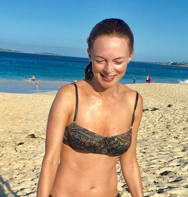 HEATHER GRAHAM, 48, LOOKS HALF HER AGE AS SHE FLAUNTS IMPRESSIVE BODY IN TEENY BIKINI